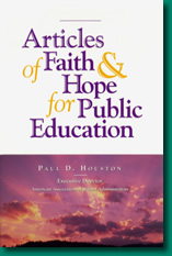 Articles of Faith & Hope for Public Education